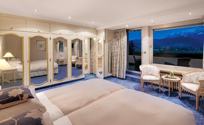 Hotelzimmer in garmisch partenkirchen sonnenbichl for Zimmer suite