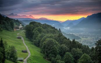 bergpanorama garmisch partenkirchen
