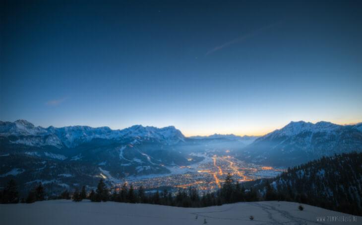 Winterlandschaft-Garmisch