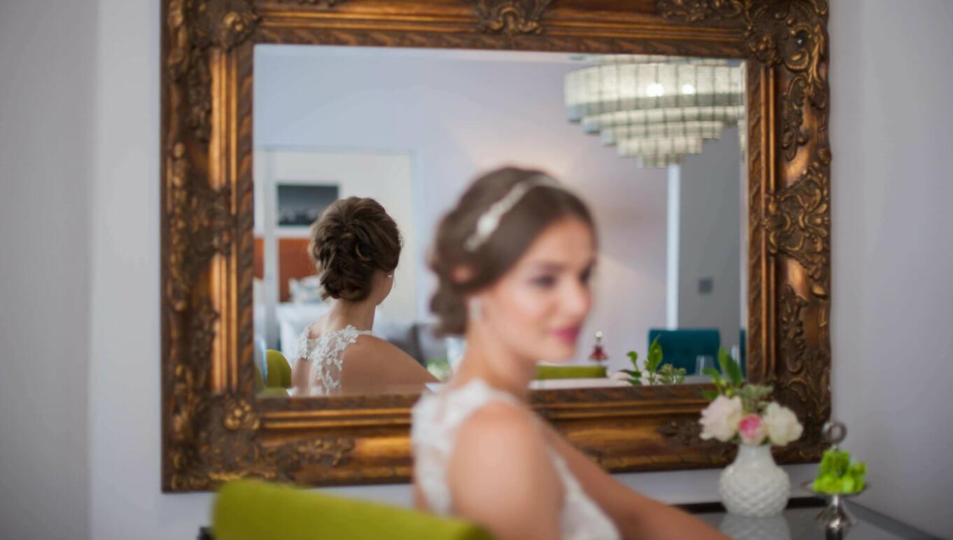 Hochzeitslocation Braut in Garmisch