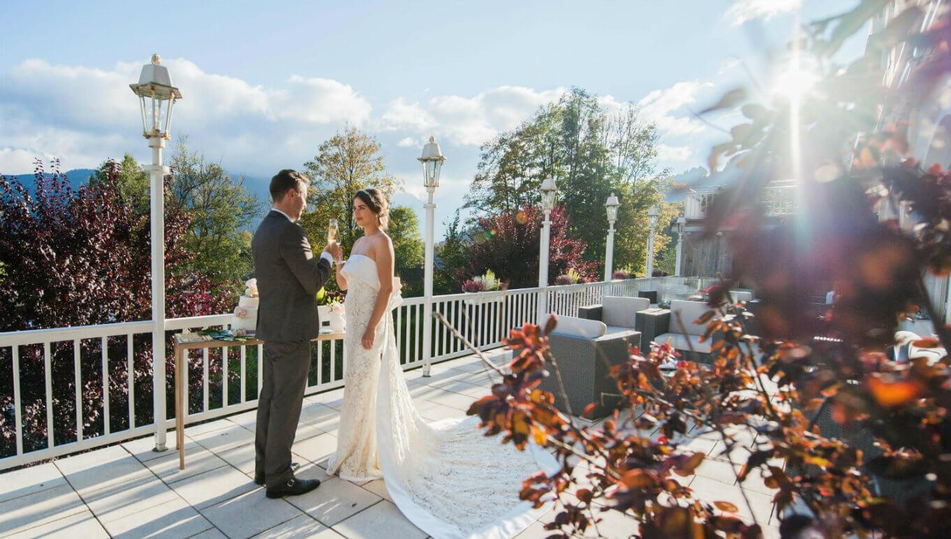 Brautpaar Hochzeitslocation Bayern
