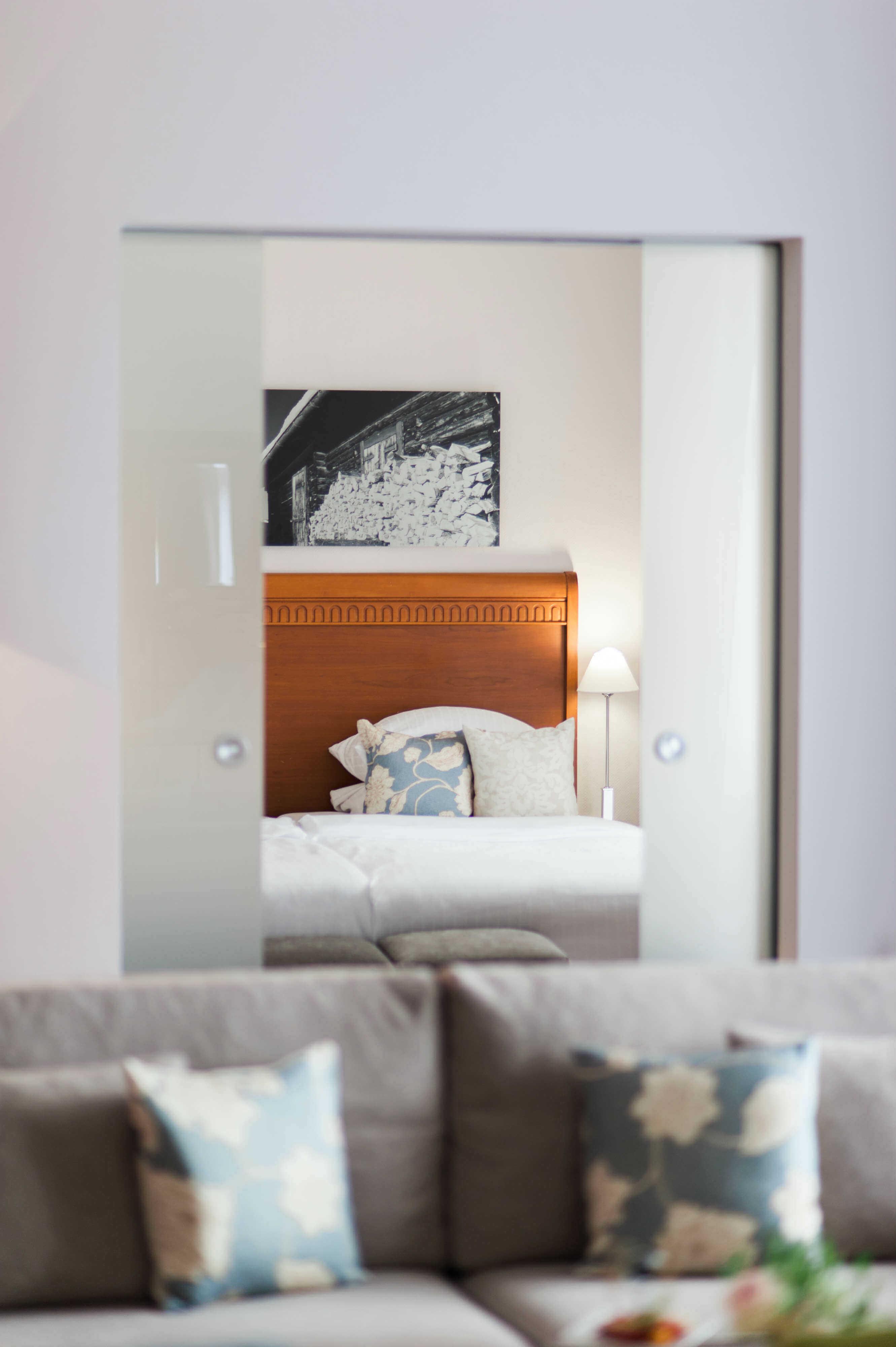 Hotel Alpen Schlafzimmer Luxus Unterkunft