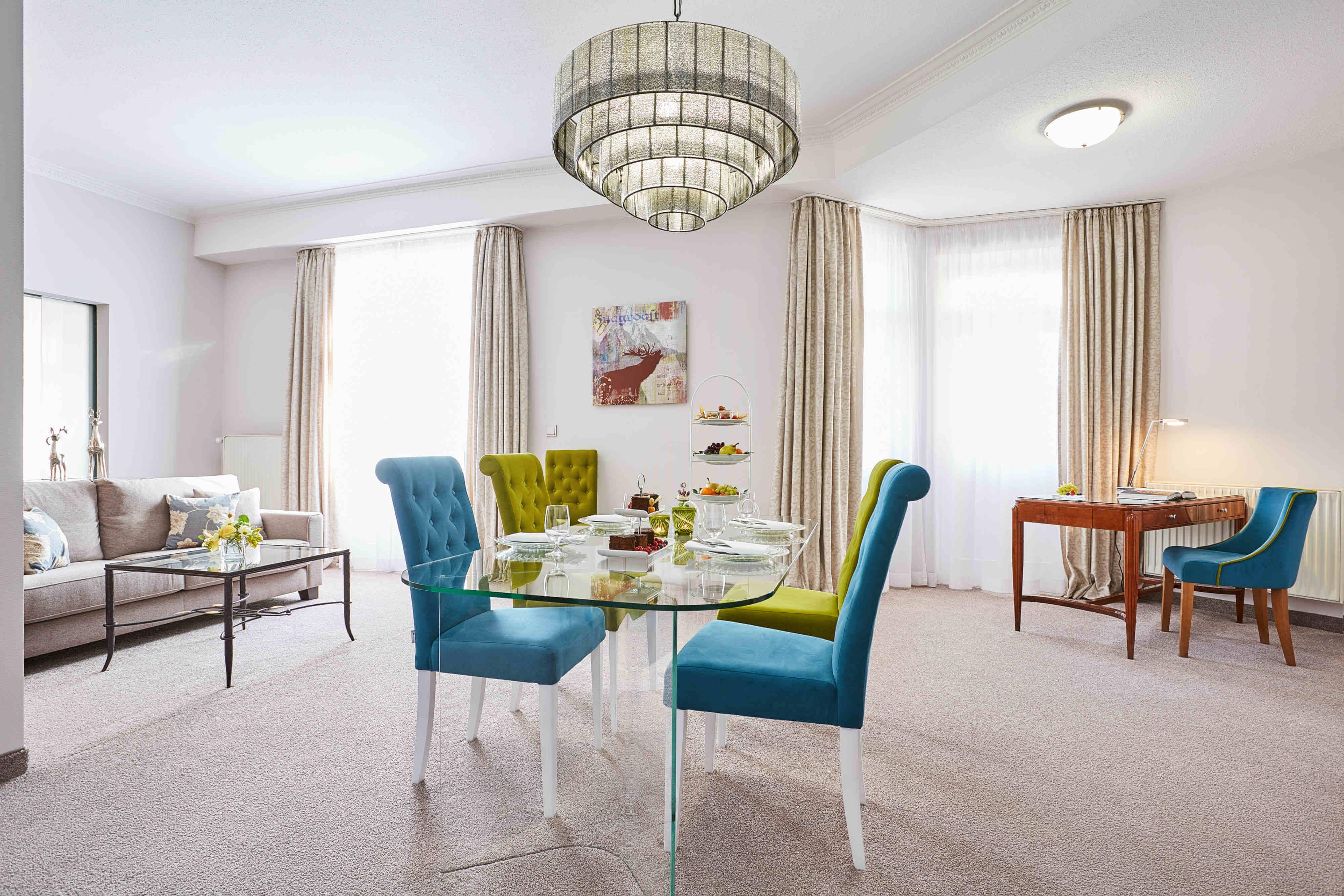Luxus Hotel Zimmer Garmisch Partenkirchen