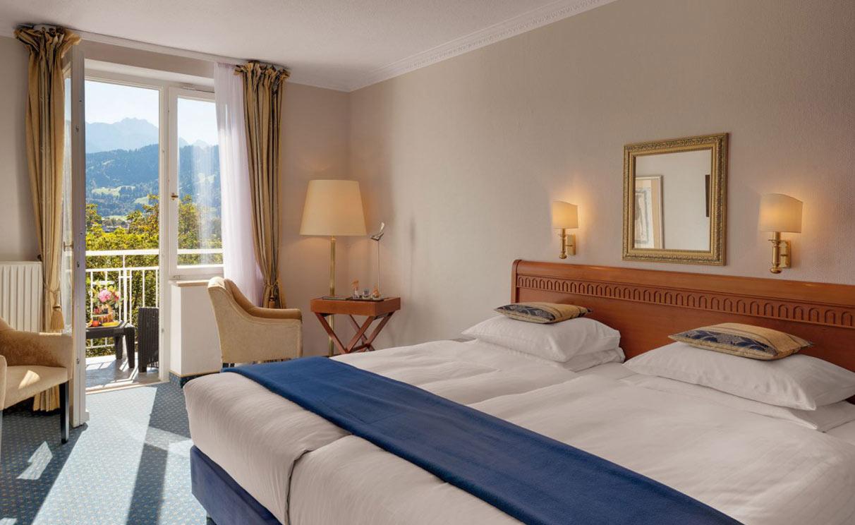 Deluxe Hotel Room garmisch partenkirchen Grand Hotel Sonnenbichl