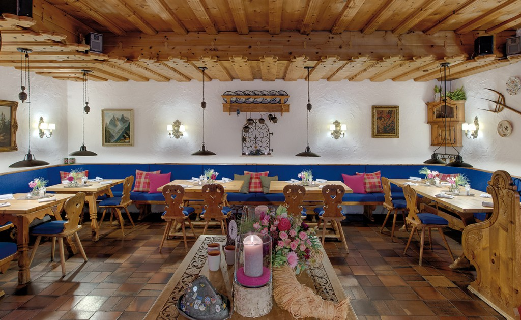 restaurant garmisch Grand Hotel Sonnenbichl
