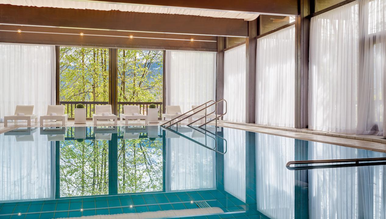 swimming pool garmisch Grand Hotel Sonnenbichl