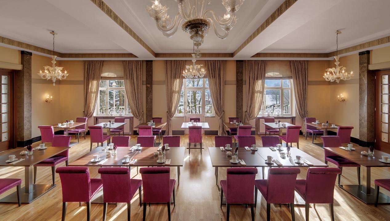 restaurant Grand Hotel Sonnenbichl garmisch