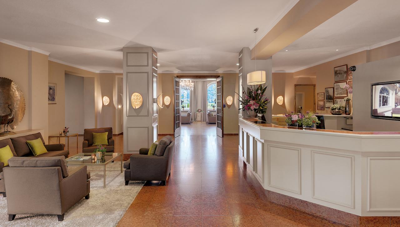 hotel lobby garmisch Grand Hotel Sonnenbichl germany