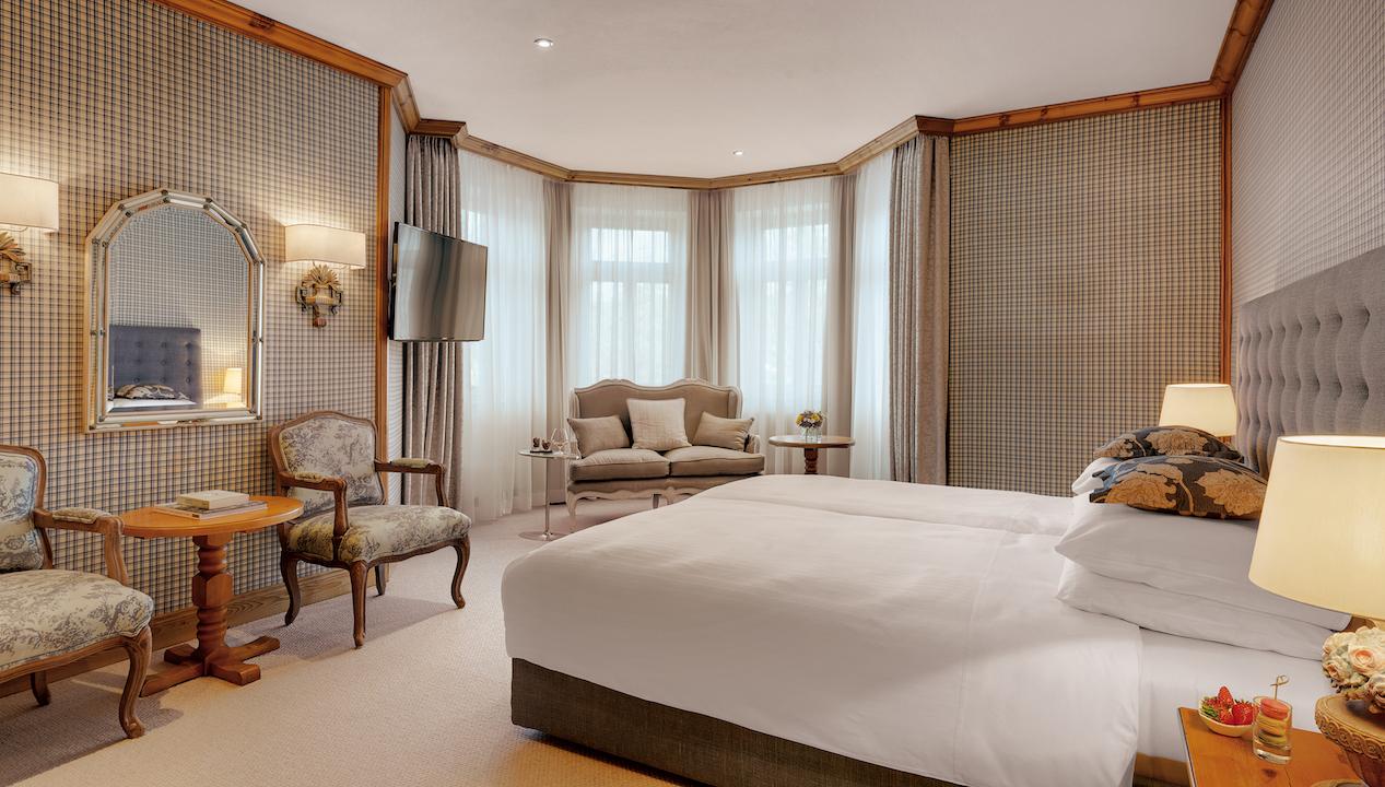 hotel room Grand Hotel Sonnenbichl Garmisch Partenkirchen