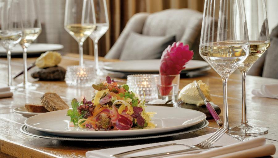 Best cuisine at Caspar B. restaurant Garmisch