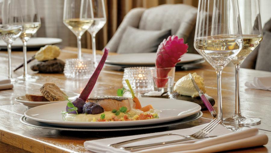 Fish dish restaurant Garmisch Partenkirchen