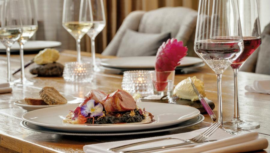 Meat dish restaurant Garmisch Partenkirchen